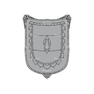 Shield Vector 1 7 Clip Art - SVG & PNG vector