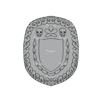 Shield Vector 1 9 Clip Art - SVG & PNG vector
