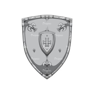 Shield Vector 2 1 Clip Art - SVG & PNG vector