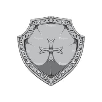 Shield Vector 2 2 Clip Art - SVG & PNG vector