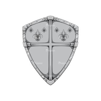 Shield Vector 2 3 Clip Art - SVG & PNG vector