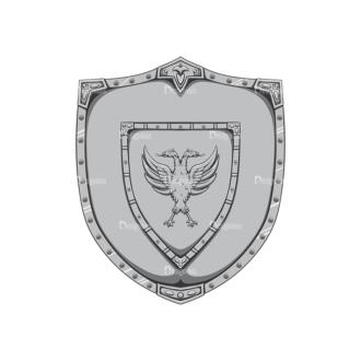 Shield Vector 2 5 Clip Art - SVG & PNG vector