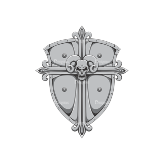 Shield Vector 2 6 Clip Art - SVG & PNG vector