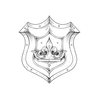 Shield Vector 3 1 Clip Art - SVG & PNG vector