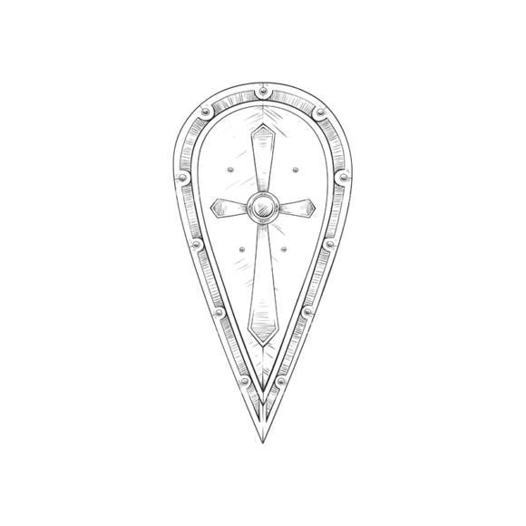 Shield Vector 3 4 1