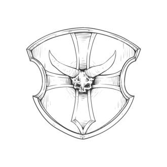 Shield Vector 3 7 Clip Art - SVG & PNG vector