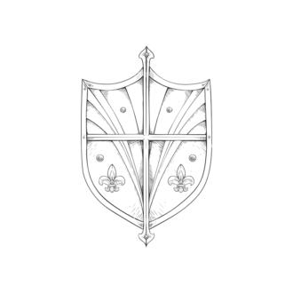 Shield Vector 3 8 Clip Art - SVG & PNG vector
