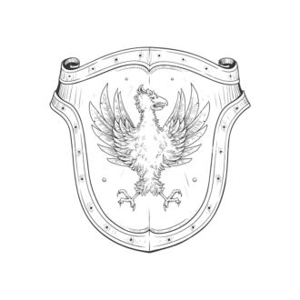 Shield Vector 3 9 Clip Art - SVG & PNG vector