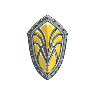 Shield Vector 4 1 Clip Art - SVG & PNG vector