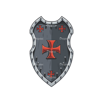 Shield Vector 5 1 Clip Art - SVG & PNG vector