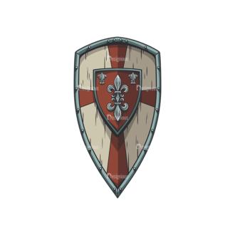 Shield Vector 5 3 Clip Art - SVG & PNG vector