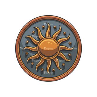 Shield Vector 5 6 Clip Art - SVG & PNG vector