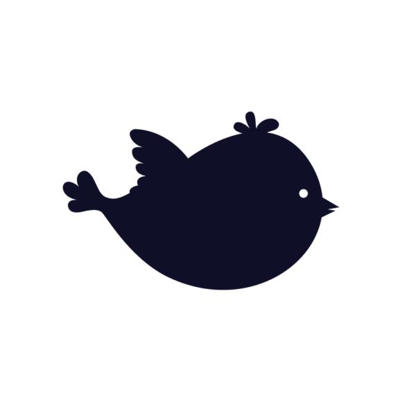 Simple Flat Birds 1 Vector Bird 01 1