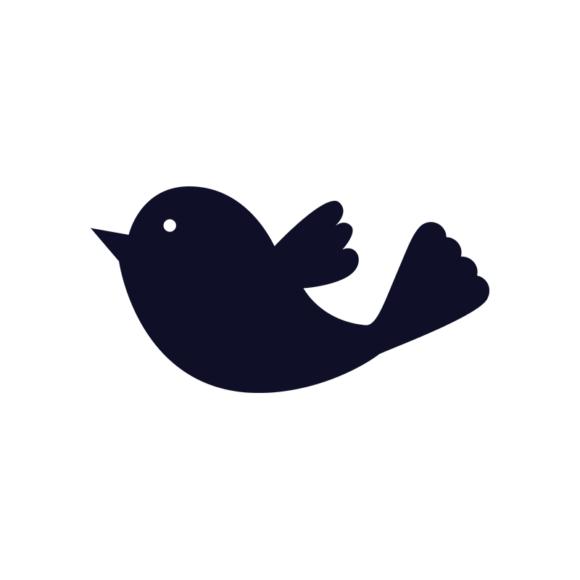 Simple Flat Birds 1 Vector Bird 03 1