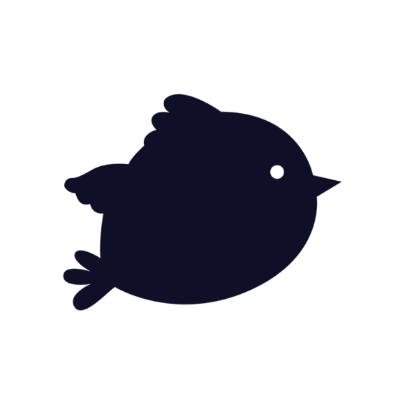 Simple Flat Birds 1 Vector Bird 04 1