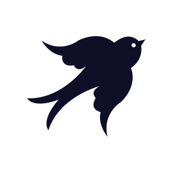 Simple Flat Birds 1 Vector Bird 08 1