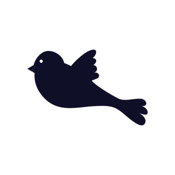 Simple Flat Birds 1 Vector Bird 09 1