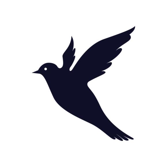 Simple Flat Birds 1 Vector Bird 12 1