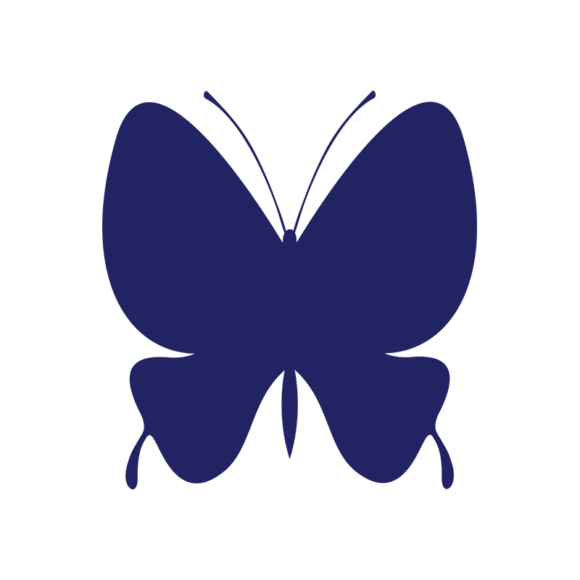 Simple Flat Butterlfy 1 Vector Butterfly 01 1
