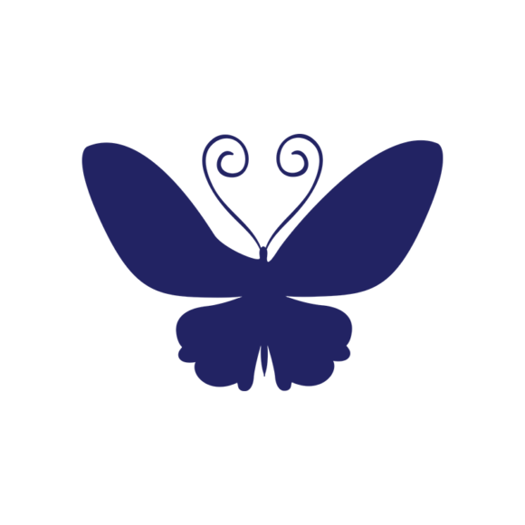 Simple Flat Butterlfy 1 Vector Butterfly 03 1