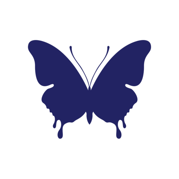 Simple Flat Butterlfy 1 Vector Butterfly 04 1