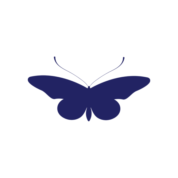 Simple Flat Butterlfy 1 Vector Butterfly 05 1