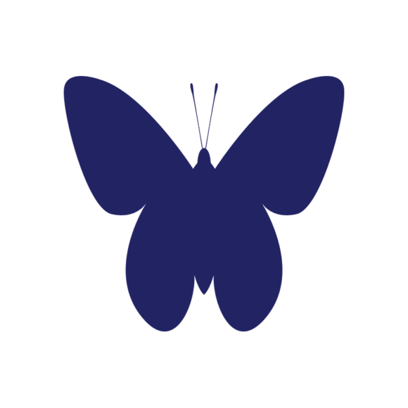 Simple Flat Butterlfy 1 Vector Butterfly 07 1