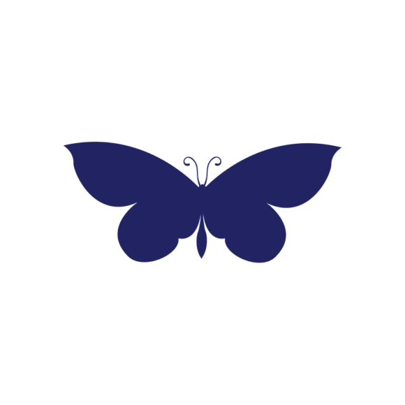 Simple Flat Butterlfy 1 Vector Butterfly 08 1