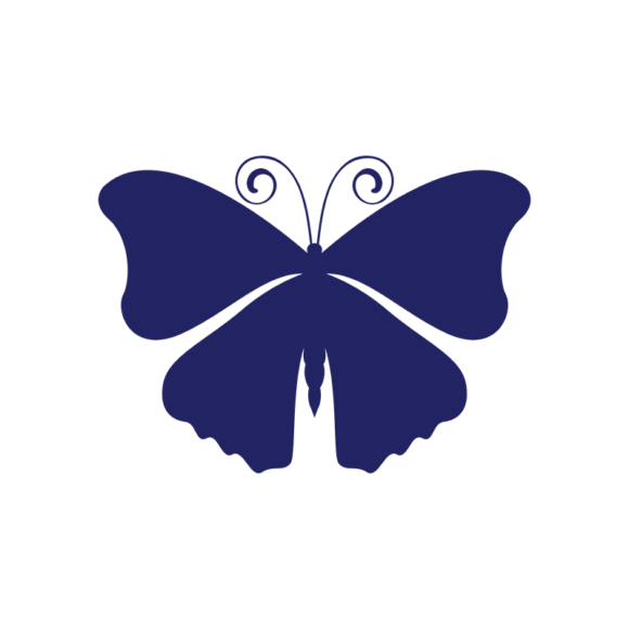 Simple Flat Butterlfy 1 Vector Butterfly 09 1