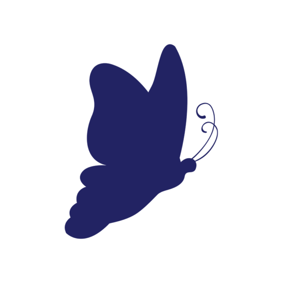 Simple Flat Butterlfy 1 Vector Butterfly 10 1
