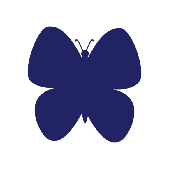 Simple Flat Butterlfy 1 Vector Butterfly 11 1