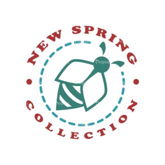 Spring Elements Vector Spring 09 Clip Art - SVG & PNG vector