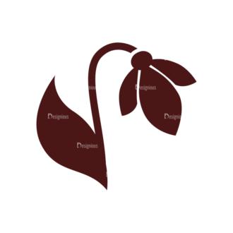 Spring Vector Elements Set 1 Vector Flower 04 Clip Art - SVG & PNG vector