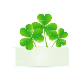 St Patrick'S Day Vector Elements Vector Clover Leaf 13 Clip Art - SVG & PNG leaf