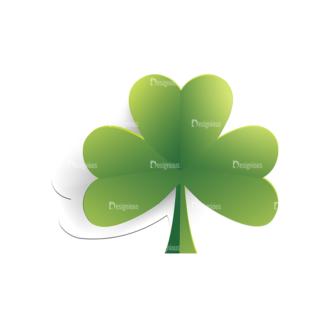 St Patrick'S Day Vector Elements Vector Clover Leaf 17 Clip Art - SVG & PNG leaf