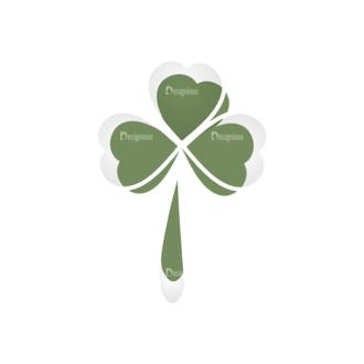 St Patrick'S Day Vector Elements Vector Clover Leaf 20 Clip Art - SVG & PNG leaf