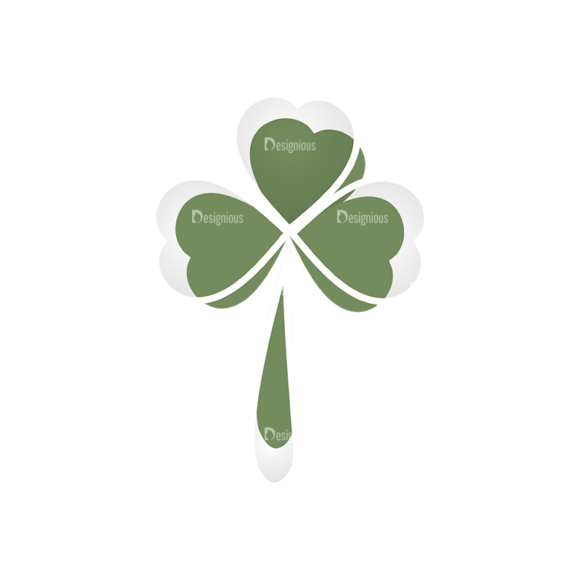 St Patrick'S Day Vector Elements Vector Clover Leaf 20 st patricks day vector elements vector clover leaf 20