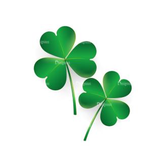 St Patrick'S Day Vector Elements Vector Clover Leaf 29 Clip Art - SVG & PNG leaf