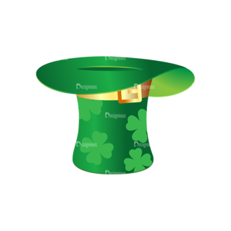 St Patrick'S Day Vector Elements Vector Hat 10 Clip Art - SVG & PNG vector