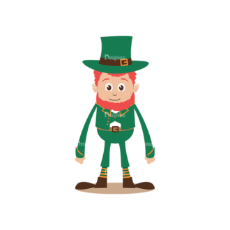 St Patrick'S Day Vector Elements Vector Patrick 01 Clip Art - SVG & PNG vector