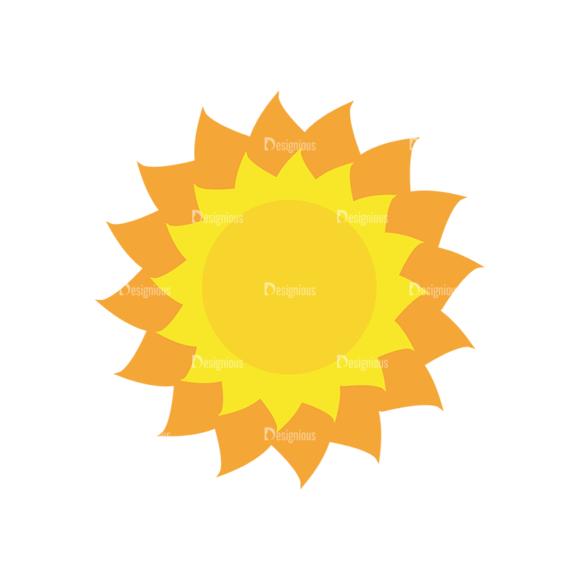 Sun Vector 1 2 5