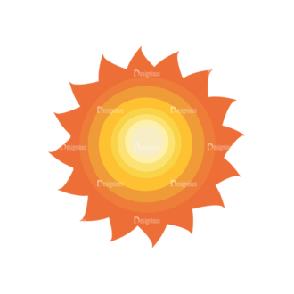 Sun Vector 1 5 Clip Art - SVG & PNG vector