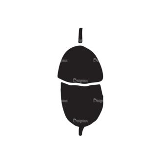 Thanksgiving Vector Elements Set 1 Vector Chestnut Clip Art - SVG & PNG vector