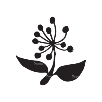 Thanksgiving Vector Elements Set 1 Vector Flower 01 Clip Art - SVG & PNG vector