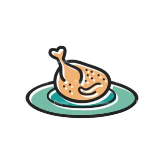 Thanksgiving Vector Set 13 Vector Chicken Clip Art - SVG & PNG vector