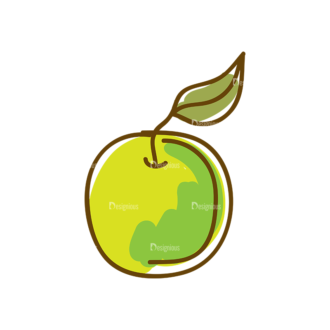 Thanksgiving Vector Set 8 Vector Apple 19 Clip Art - SVG & PNG vector