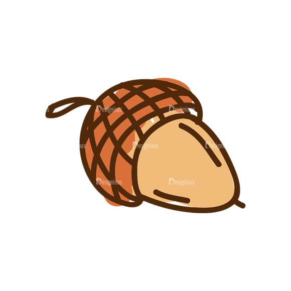 Thanksgiving Vector Set 8 Vector Chestnut 27 5