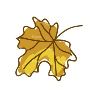 Thanksgiving Vector Set 8 Vector Leaf 06 Clip Art - SVG & PNG leaf