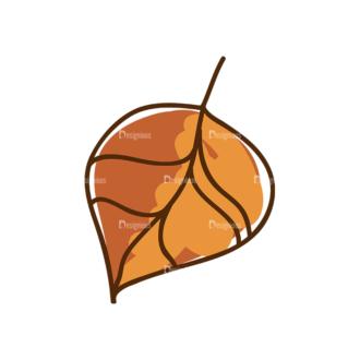 Thanksgiving Vector Set 8 Vector Leaf 08 Clip Art - SVG & PNG leaf