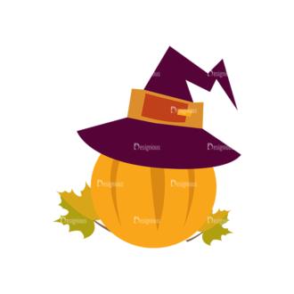 Thanksgiving Vector Set 9 Vector Pumpkin Clip Art - SVG & PNG vector